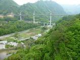 八ッ場ダムの繋がった橋