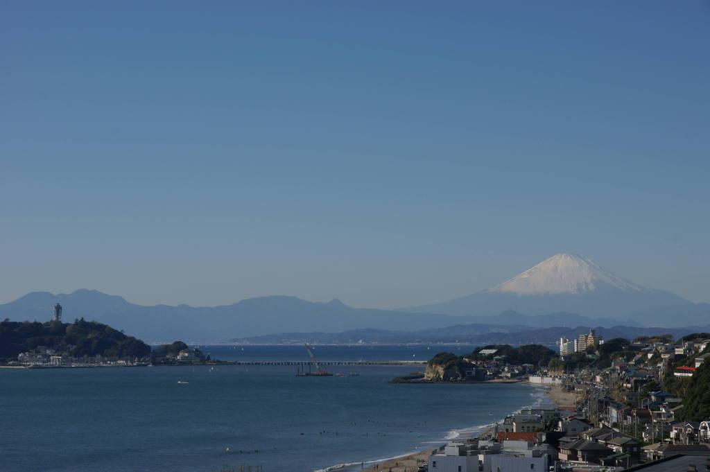 江ノ島と富士山~昼間Ver