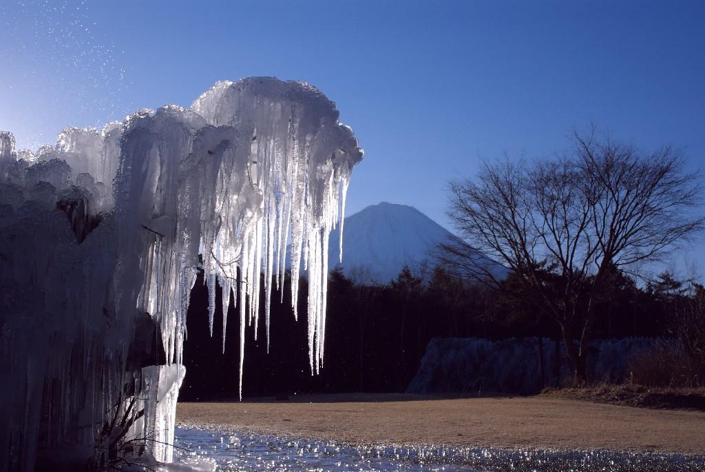 ツラツラ(樹氷&富士山)