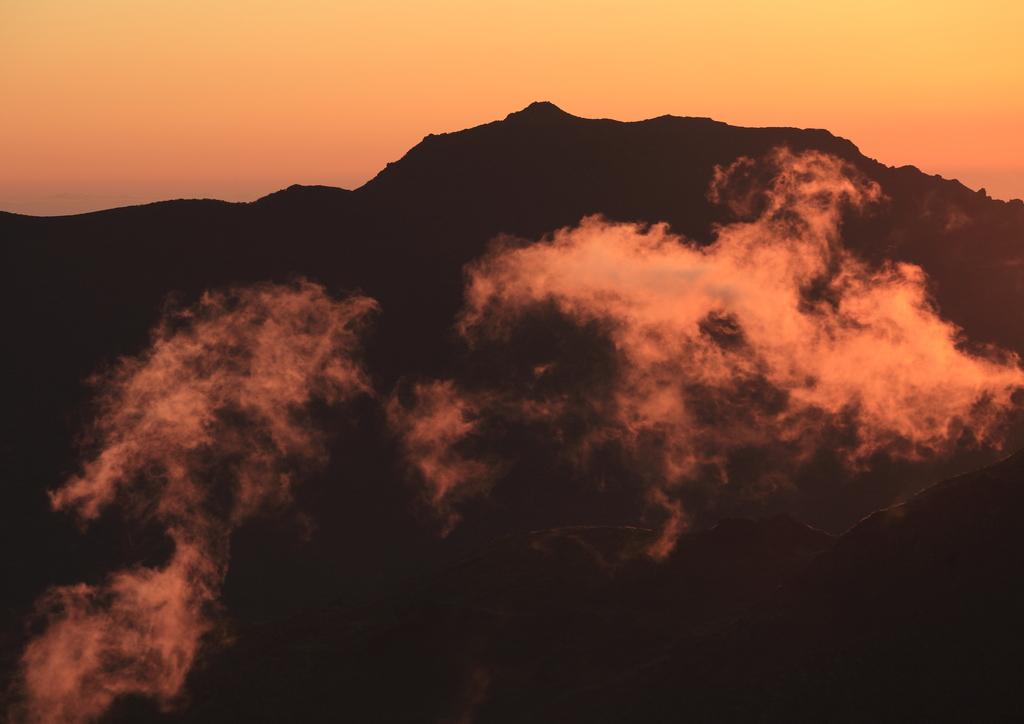 大船山の朝