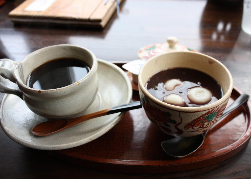 おしるこコーヒーセット