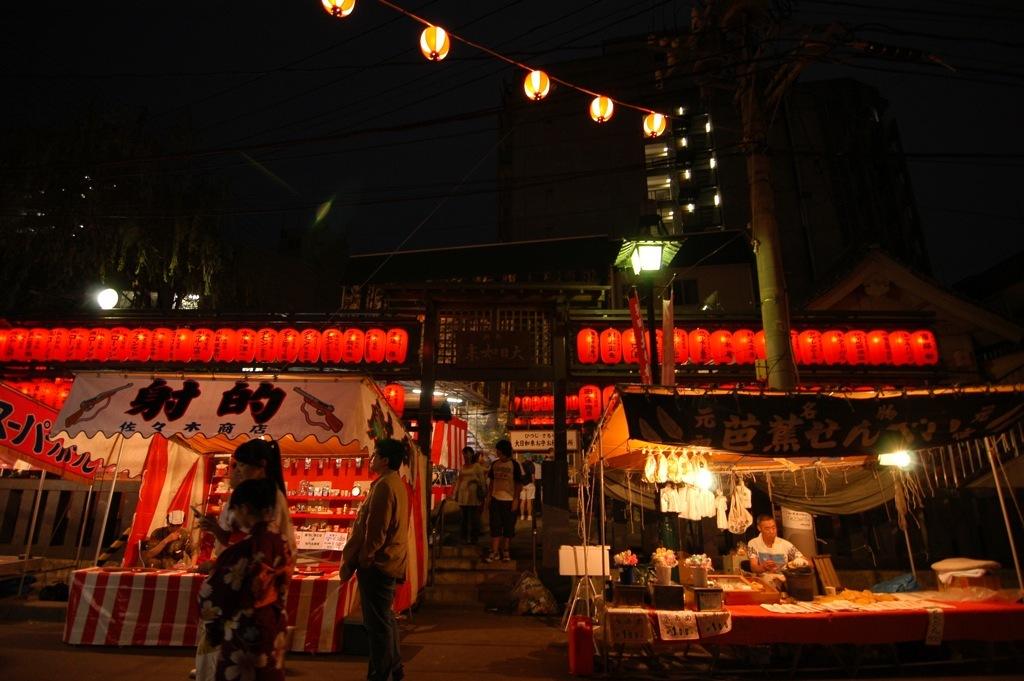 神社と祭り