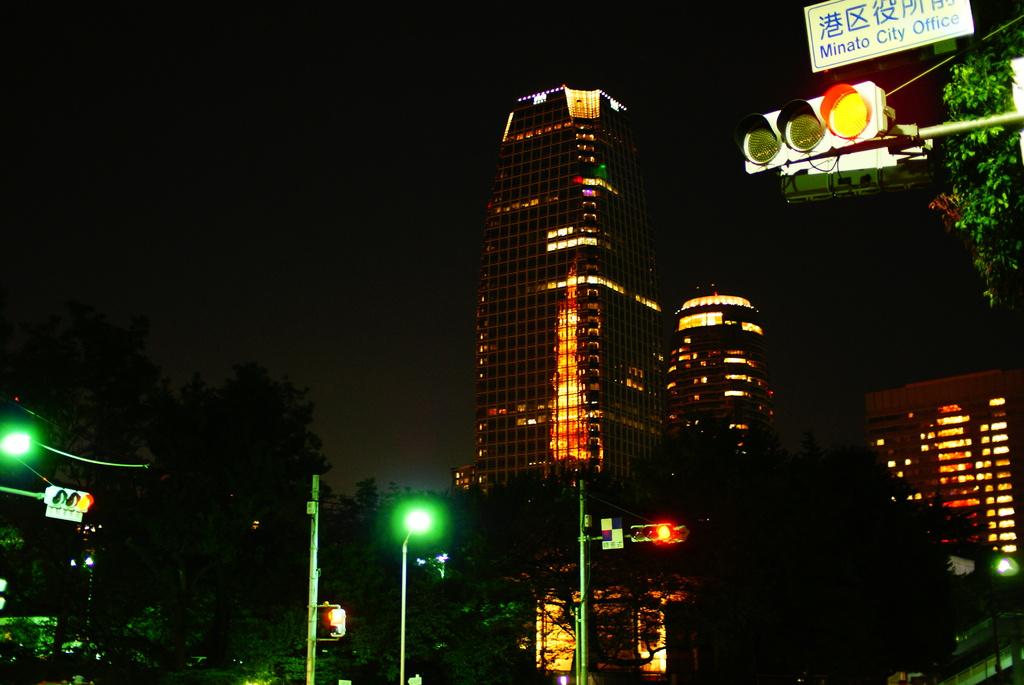 ビルの中の東京タワー