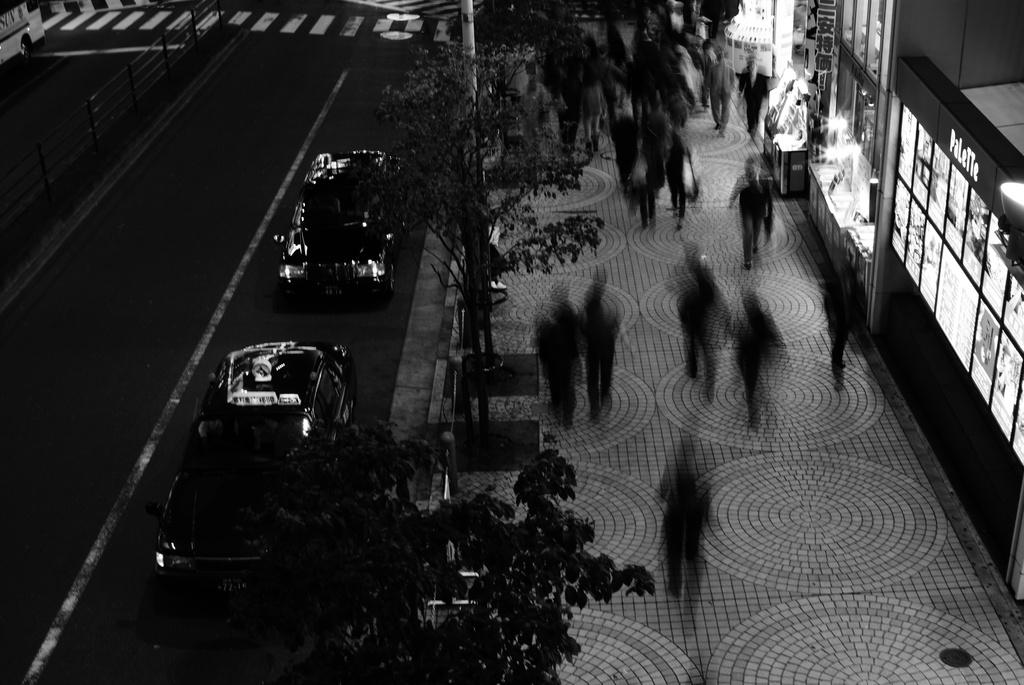 flow of people