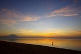 daybreak of the beach
