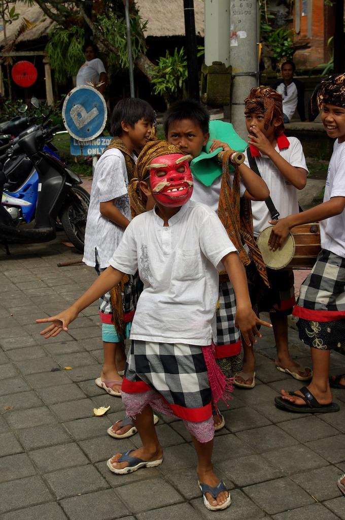 Children of the galungan