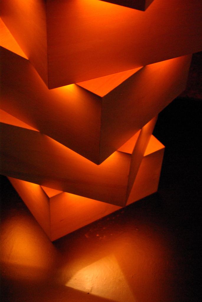 光のオブジェ