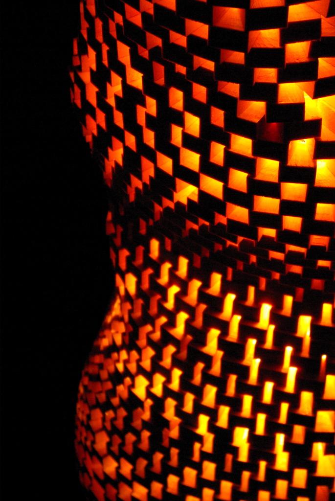 光のオブジェ 2