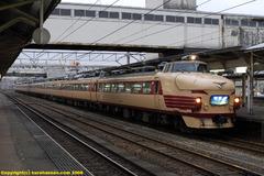 高岡駅の急行能登