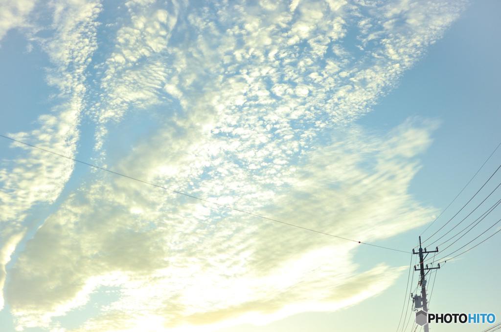いつかの空。