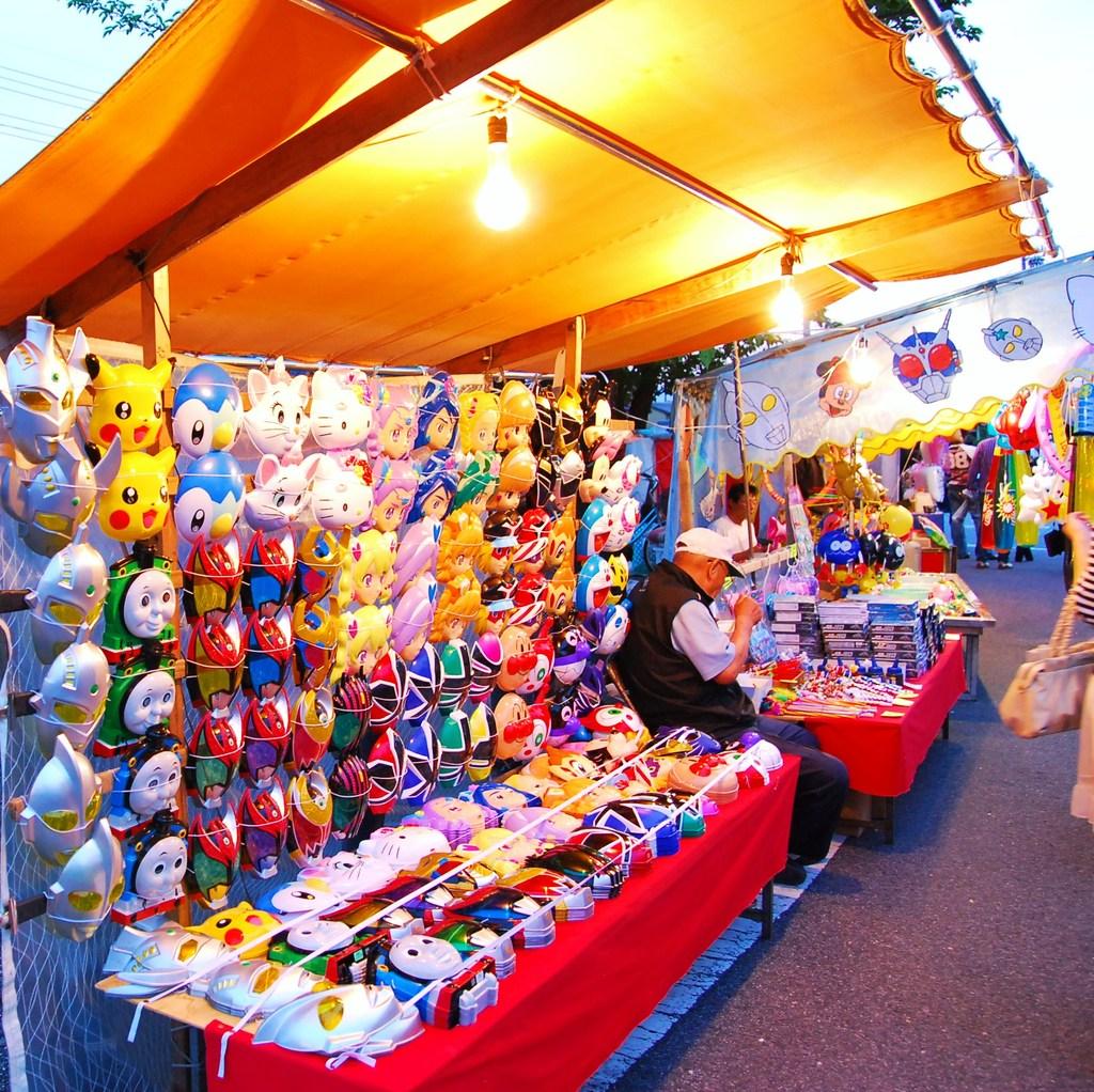大垣祭りで。