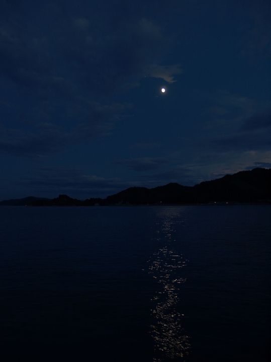 北木島の夜