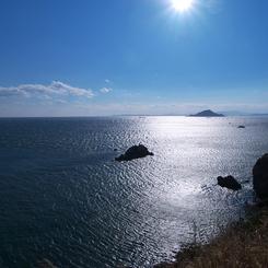 OLYMPUS E-1で撮影した風景(♪海は広いなぁ~)の写真(画像)