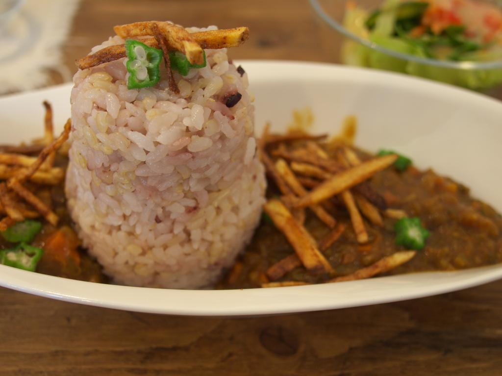 雑穀米カレー