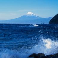 OLYMPUS E-1で撮影した風景(伊田より富士)の写真(画像)