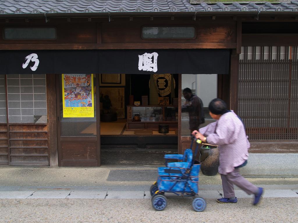 関宿・午後のひととき