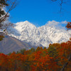 秋の白馬岳
