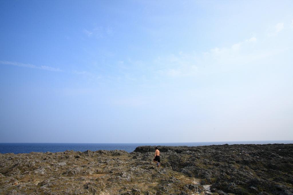 日本最南端の岩場