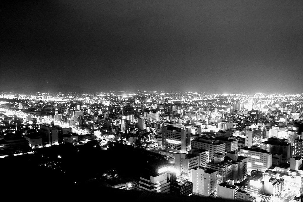 高松市を望む
