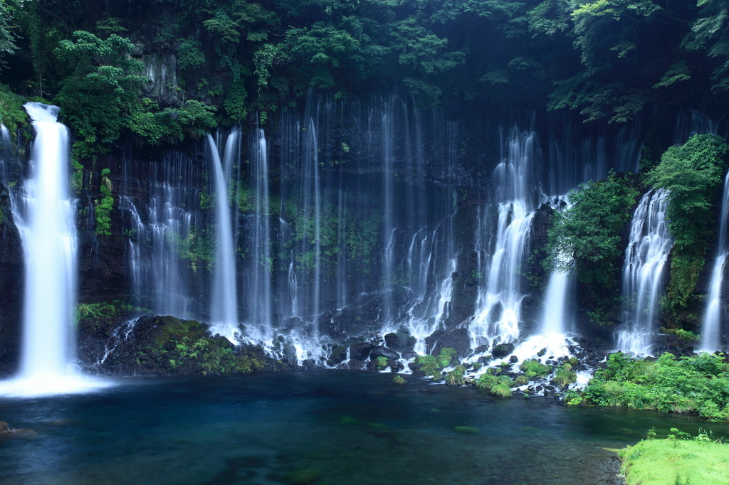 白糸の滝(2)