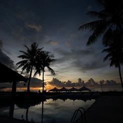 CANON Canon EOS 5Dで撮影した風景(サイパンの夕焼け)の写真(画像)