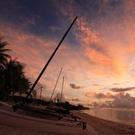 CANON Canon EOS 5Dで撮影した風景(サイパンのボート)の写真(画像)