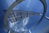 空に浮かぶ円