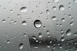 車窓の水滴