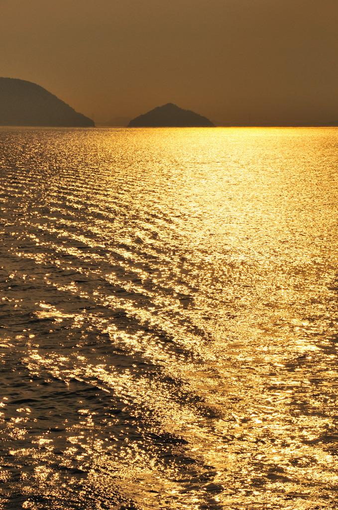 波の美しさ