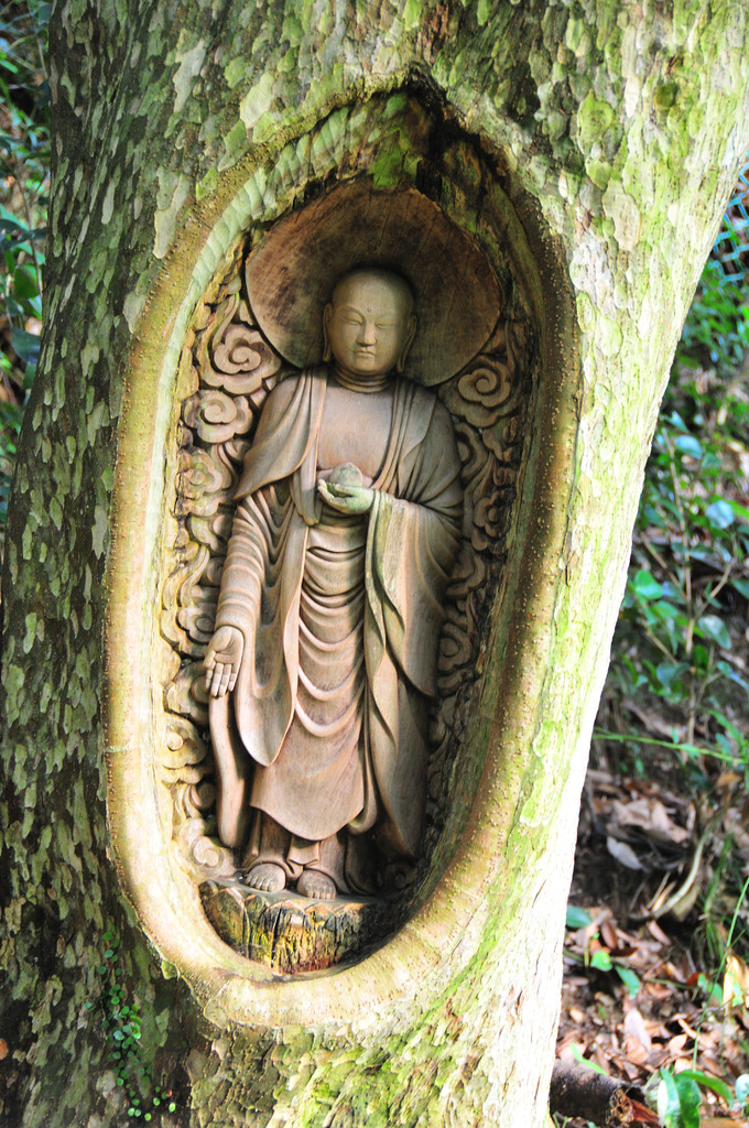 木彫り地蔵②
