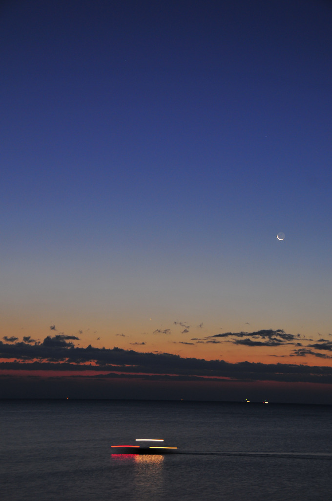 徳島の海と空