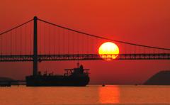 列車と海と太陽と