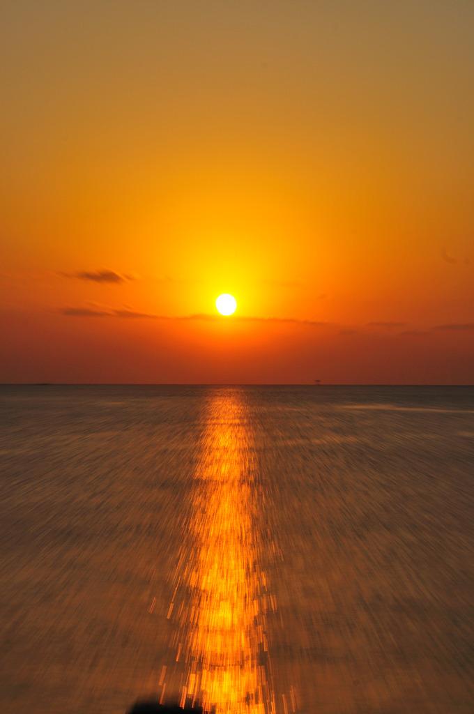 徳島の朝日