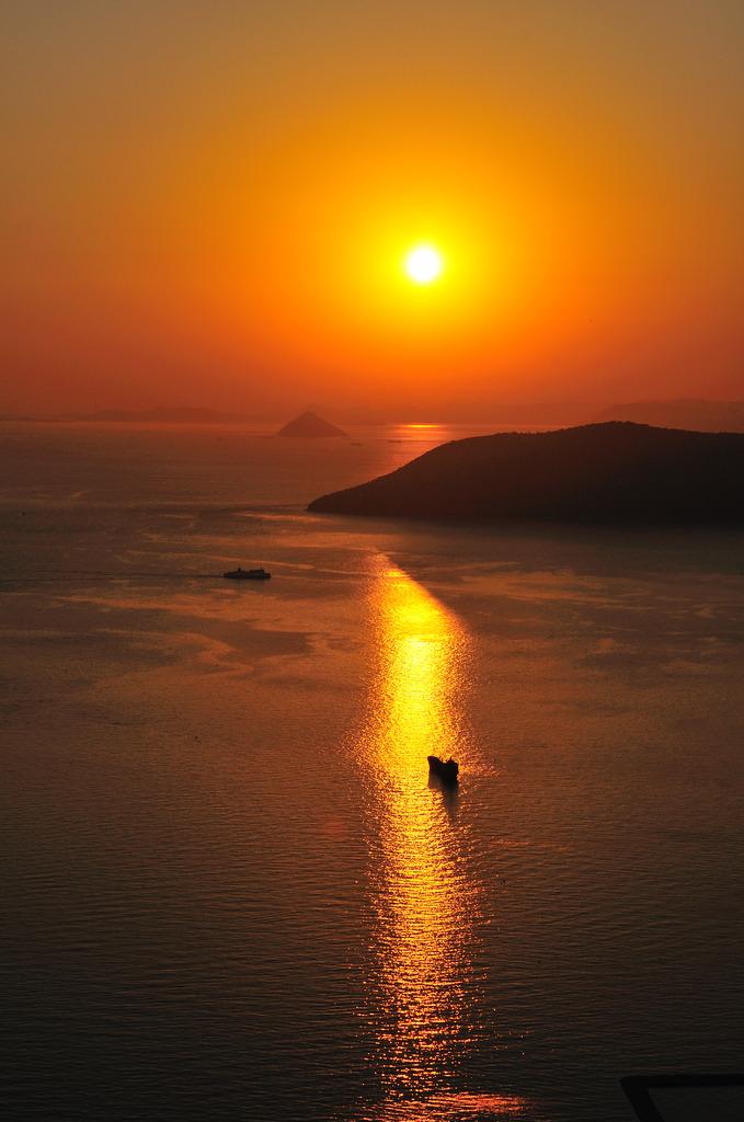 屋島の夕日②