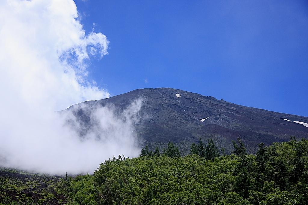 富士山の空