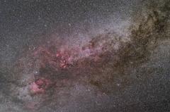 オルゴール赤道儀で撮る天体 ― はくちょう座中心部