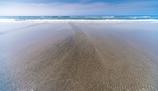 夏空の海岸