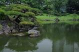 蓬莱島を望む