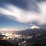 新道峠からの夜景
