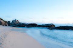 Hijyuishi beach in Kerama