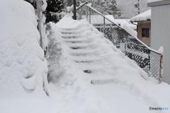 郡上八幡冬景色