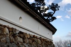 高知城の城壁