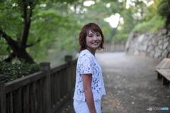 岡崎公園にて