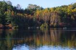 湖上の紅葉狩り