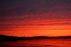 今日の夕焼け⑤20110616