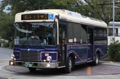 レトロ調バス(スカイライト号)