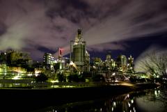 雲と蒸気と煙と工場夜景1