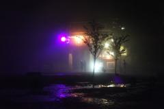 霧の六甲摩耶