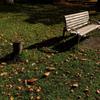 ベンチの休息