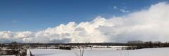 雪のカーテン